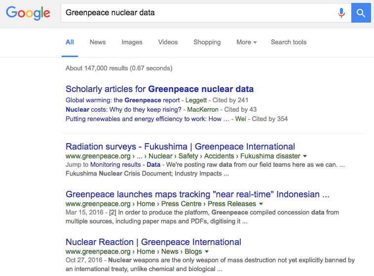Nuclear data